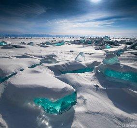 20 εκπληκτικές φωτογραφίες από παγωμένες λίμνες & ωκεανούς που μοιάζουν σαν πραγματικά έργα τέχνης - Απολαύστε τις! - Κυρίως Φωτογραφία - Gallery - Video