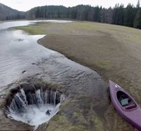 Story of the day: Το άλυτο μυστήριο της λίμνης που... εξαφανίζεται! - Κυρίως Φωτογραφία - Gallery - Video