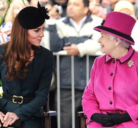Kate Middleton: Άρχισαν τα….όργανα με την βασίλισσα Ελισάβετ εξαιτίας των στυλιστικών της επιλογών! - Κυρίως Φωτογραφία - Gallery - Video