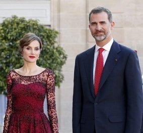 Γαλλική κομψότητα από την Ισπανίδα Βασίλισσα Λετίτσια - Τι φόρεσε στο Παρίσι; - Κυρίως Φωτογραφία - Gallery - Video