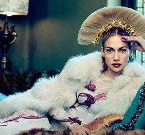 Η νέα αυτοκράτειρα Ευγενία πασών των Ρωσιών: Η Τζένιφερ Λόπεζ στο εξώφυλλο του ρωσικού Harpers Bazaar! (Φωτό) - Κυρίως Φωτογραφία - Gallery - Video