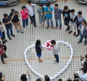 Love Story of the day: Ερωτευμένος άνδρας ξόδεψε 50 χιλ. λίρες σε 99 iphone για να κάνει πρόταση γάμου στην αγαπημένη του - εκείνη αρνήθηκε, τον άφησε με ραγισμένη καρδιά και άφραγκο! (φωτό) - Κυρίως Φωτογραφία - Gallery - Video