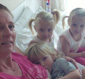 Story: Μια μανούλα θηλάζει ακόμη τα τρίδυμα της κι ας έκλεισαν τα 3! Μια άλλη έφτασε να θηλάζει την κόρη της 5 χρονών!(Φωτό - Βίντεο) - Κυρίως Φωτογραφία - Gallery - Video
