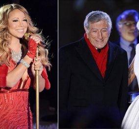 Όταν η Lady Gaga έβγαλε Χριστουγεννιάτικες selfies με την Mariah Carey! Νάτες - Κυρίως Φωτογραφία - Gallery - Video