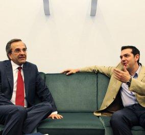 Μέγαρο Μαξίμου: «Απορρίπτεται η συνάντηση του Πρωθυπουργού με τον Α. Τσίπρα - Εξυπηρετεί κομματικούς στόχους του ΣΥΡΙΖΑ και δεν υπάρχει καμία διάθεση επικοινωνίας» - Κυρίως Φωτογραφία - Gallery - Video