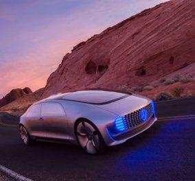 Σούπερ αυτοκίνητο του μέλλοντος: Δείτε την υπερπολυτελή Mercedes-Benz που θα κυκλοφορεί χωρίς οδηγό!  - Κυρίως Φωτογραφία - Gallery - Video