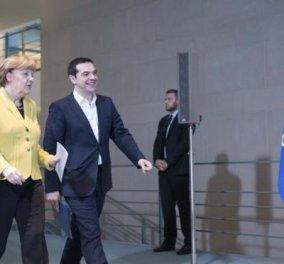 Α. Μέρκελ: ''Πρέπει να γίνουν τα πάντα για να μην ξεμείνει η Ελλάδα από μετρητά'' - Κυρίως Φωτογραφία - Gallery - Video