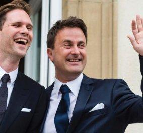 Ξαβιέ Μπετέλ: Ο πρωθυπουργός του Λουξεμβούργου παντρεύτηκε τον κούκλο σύντροφο του! - Κυρίως Φωτογραφία - Gallery - Video