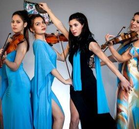 «Muses of Greece»: Η Εβίτα, η Μαίρη, η Χρυσοφίλη & η Καλλιόπη είναι οι 4 σύγχρονες Μούσες της κλασικής μουσικής - Κυρίως Φωτογραφία - Gallery - Video