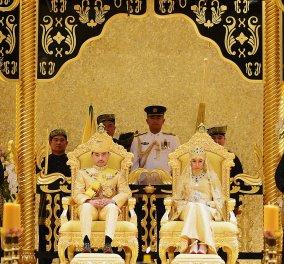 "H αβάσταχτη χλιδή στο γάμο του γιου του Σουλτάνου του Μπρουνέι - Φωτογραφίες & βίντεο από την ""τρελή πολυτέλεια""  - Κυρίως Φωτογραφία - Gallery - Video"