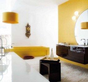 15 κίτρινα μπάνια που θα λατρέψετε & θα απολαμβάνετε το spa στο σπίτι - Κυρίως Φωτογραφία - Gallery - Video