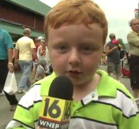 Τα πιο χαριτωμένα και αστεία παιδιά του διαδικτύου: Οι μπόμπιρες που σάρωσαν το Ίντερνετ το 2014! - Κυρίως Φωτογραφία - Gallery - Video