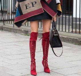 «Οver the knees boots»: Η νέα ταση του Χειμώνα: Απολαύστε τις πιο ωραίες μπότες πάνω από τα γόνατα και δείτε πώς να τις συνδυάσετε! - Κυρίως Φωτογραφία - Gallery - Video