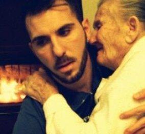 Love story: Η συγκινητική φωτογραφία με το νεαρό να κρατά στα χέρια τη γιαγιά με το Αλτσχάιμερ - ένας διαφορετικός τρόπο αγάπης! - Κυρίως Φωτογραφία - Gallery - Video