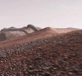 Εκπληκτικό βίντεο της NASA δείχνει πώς ήταν ο Άρης πριν 4 δισεκατομμύρια χρόνια - Κυρίως Φωτογραφία - Gallery - Video