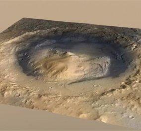 NASA: Στον βυθό αρχαίας λίμνης του Άρη βρίσκεται το ρομπότ Curiosity - Κυρίως Φωτογραφία - Gallery - Video