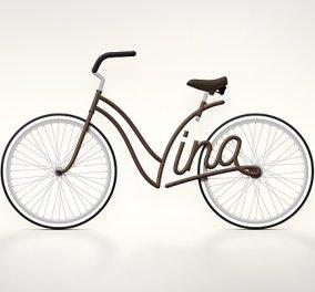 Ποδήλατα με το όνομα σου! πως σας λένε; Ματίλντα, Νίνα, Μαρία; Το ποδήλατο σας θα έχει το όνομα σας αντί για σκελετό κι έτσι δεν θα το χάνετε ποτέ! (φωτό) - Κυρίως Φωτογραφία - Gallery - Video