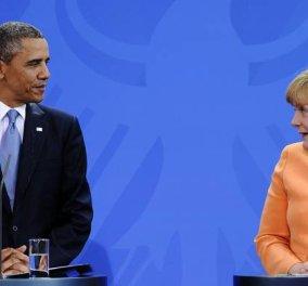 G7: Μέρκελ & Ομπάμα πιέζουν για συμφωνία: «Υπάρχει πολλή πρόοδος, αλλά όχι πολύς χρόνος» - Κυρίως Φωτογραφία - Gallery - Video