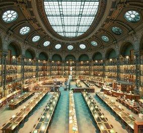 Chapeau! Υποκλιθείτε στους μεγαλοπρεπείς ναούς της ανάγνωσης: οι Βιβλιοθήκες στο Παρίσι & τη Ρώμη, μεγαθήρια γνώσης & αισθητικής!  - Κυρίως Φωτογραφία - Gallery - Video