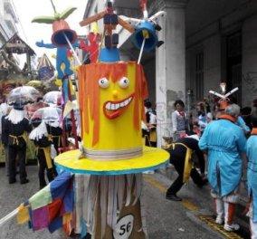 Live το Καρναβαλι της Πάτρας: Με πολλή τρέλα 35.000 καρναβαλιστές, έτοιμοι να διώξουν το σύννεφο & να φέρουν τον ήλιο! Δείτε τη μεγάλη παρέλαση! - Κυρίως Φωτογραφία - Gallery - Video