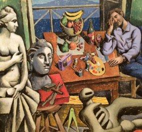 Όλη η Αθήνα στην αναδρομική του κορυφαίου Έλληνα ζωγράφου Παύλου Σάμιου : γυναίκες, γυμνά, καρπούζι & έρωτας ! (φωτό) - Κυρίως Φωτογραφία - Gallery - Video