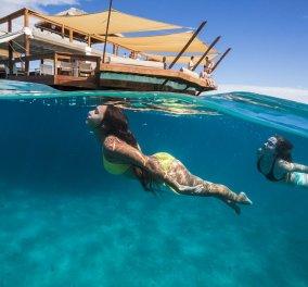 Η πιο απίστευτη πιτσαρία βρίσκεται... στη μέση του Ειρηνικού ωκεανού - Βουτιά και πίτσα - Κυρίως Φωτογραφία - Gallery - Video
