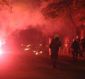 """''Κάηκε'' η Αθήνα - Κρανίου τόπος και πάλι η πρωτεύουσα που θύμισε σκηνικό πολέμου - Βανδαλισμοί, επεισόδια και """"ιπτάμενες"""" μολότοφ! - Κυρίως Φωτογραφία - Gallery - Video"""