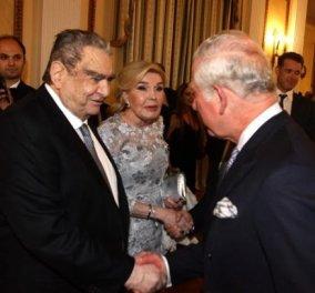 Βαρδής & Μαριάννα Βαρδινογιάννη: Στο επίσημο δείπνο προς τιμήν του πρίγκιπα Καρόλου & της συζύγου του Καμίλα (ΦΩΤΟ) - Κυρίως Φωτογραφία - Gallery - Video