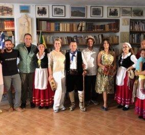 Η Δωροθέα Μερκούρη στην... πατρίδα της, την Kαλαβρία: Η νέα παραγωγή της COSMOTE TV για τις ελληνόφωνες αποικίες της Ιταλίας  - Κυρίως Φωτογραφία - Gallery - Video