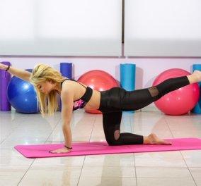 Η Μαρία Μαραγιάννη παρουσιάζει στις φίλες του eirinika ασκήσεις pilates για τέλειους σμιλευμένους γλουτούς - Κυρίως Φωτογραφία - Gallery - Video