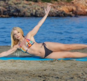 Μαρία Μαραγιάννη: Pilates & παραλία - Πως θα διατηρήσετε κορμί- σπαθί στις διακοπές (φωτό) - Κυρίως Φωτογραφία - Gallery - Video