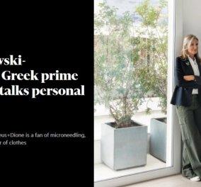 Η Μαρέβα Μητσοτάκη ανοίγει το σπίτι της στους Financial Times: Το μακροσκελέστατο αφιέρωμα - Το γούστο της στη διακόσμηση & η μόδα (φωτό) - Κυρίως Φωτογραφία - Gallery - Video