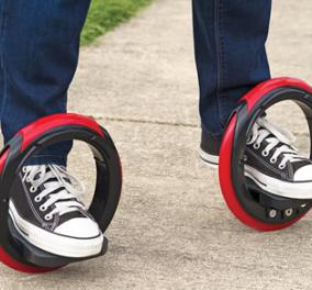 H επανάσταση στο skateboard! Χωρίς σανίδα, μόνο με 2 μεγάλες ρόδες είναι η νέα μόδα! (βίντεο) - Κυρίως Φωτογραφία - Gallery - Video