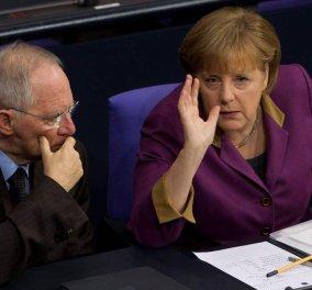 Τελεσιγράφων... συνέχεια από το Βερολίνο: «Ο χρόνος σας τελείωσε - Δεν μας φοβίζει το Grexit» - Κυρίως Φωτογραφία - Gallery - Video