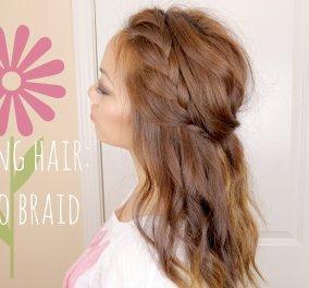 Βάλτε την άνοιξη & στα μαλλιά σας: Δείτε πώς να δημιουργήσετε την Boho πλεξούδα σε ένα μόνο βίντεο - Κυρίως Φωτογραφία - Gallery - Video
