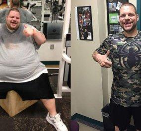 Η μοναδική ιστορία θέλησης του Ronnie - Έχασε 180 κιλά σε 700 μέρες - Κυρίως Φωτογραφία - Gallery - Video