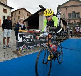 Story of the day: Μαθήματα ζωής από τον Christian Haettich - Βγήκε νικητής με ένα χέρι και ένα πόδι σε ανάβαση με ποδήλατο! (φωτό) - Κυρίως Φωτογραφία - Gallery - Video