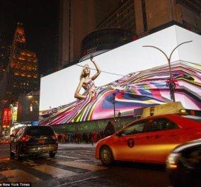 Times Square: εγκαινιάσθηκε η μεγαλύτερη στον κόσμο υψηλής ευκρίνειας ψηφιακή οθόνη με μέγεθος γήπεδου ποδοσφαίρου! (βίντεο) - Κυρίως Φωτογραφία - Gallery - Video