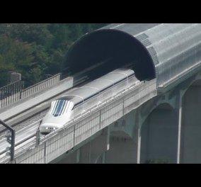 Εκπληκτικό βίντεο: Δείτε το τρένο ''αστραπή'' που σπάει τα ρεκόρ ταχύτητας! - Κυρίως Φωτογραφία - Gallery - Video