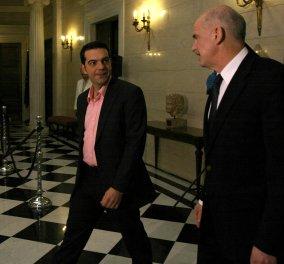 «Ρυθμιστής» της αυτοδυναμίας του ΣΥΡΙΖΑ το κόμμα του Γ. Παπανδρέου - Πώς κατανέμονται οι έδρες με την είσοδό του στη Βουλή και πώς αν μείνει εκτός - Κυρίως Φωτογραφία - Gallery - Video