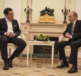 Πούτιν - Τσίπρας η επίσημη εκδοχή: ''Συζητήσαμε για τα ενεργειακά - Θα συναντηθούμε σε λίγες μέρες'' - Κυρίως Φωτογραφία - Gallery - Video