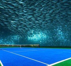 Το πρώτο υποβρύχιο γήπεδο τένις στον κόσμο φτιάχνεται στο Ντουμπάι & είναι φανταστικό - Δείτε το - Κυρίως Φωτογραφία - Gallery - Video