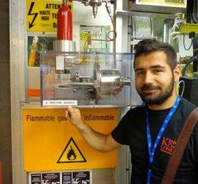 Made in Greece o μόλις 23 ετών Βαγγέλης Μοτεσνίτσαλης: Διαπρέπει στο CERN & τρώει με νομπελίστες στο ίδιο τραπέζι! - Κυρίως Φωτογραφία - Gallery - Video