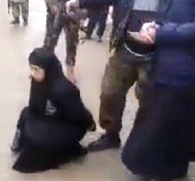 Νέα κτηνωδία στη Συρία - Εκτέλεσαν δημοσίως γυναίκα με σφαίρα στο κεφάλι για μοιχεία - Πολύ σκληρό βίντεο - Κυρίως Φωτογραφία - Gallery - Video
