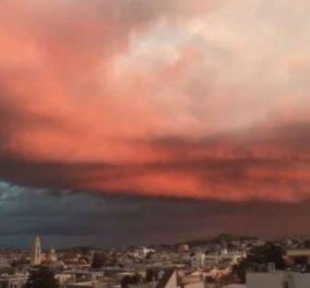 Το βίντεο της ημέρας: Δείτε πώς ο ουρανός του Σαν Φρανσίσκο κοκκίνισε από τη μια στιγμή στην άλλη! Σαν ταινία φαντασίας! - Κυρίως Φωτογραφία - Gallery - Video