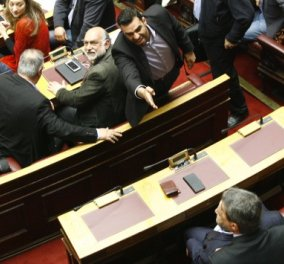 Χαμός στη Βουλή: Βούτσης, Μπακογιάννη & Λοβέρδος ακόνισαν τα ξίφη τους! (Βίντεο) - Κυρίως Φωτογραφία - Gallery - Video