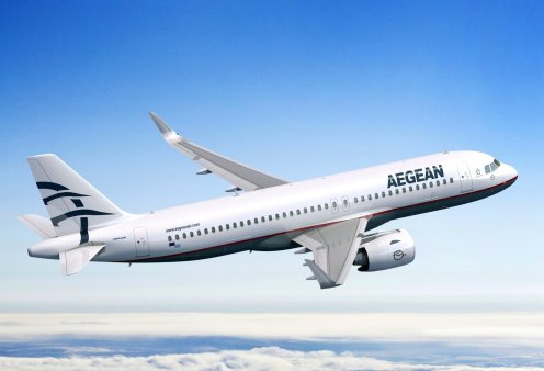 Good news: Η Aegean αναδείχθηκε 5η καλύτερη αεροπορική εταιρεία στον κόσμο - Κυρίως Φωτογραφία - Gallery - Video