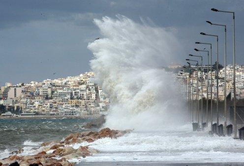 Έρχονται θυελλώδεις άνεμοι 9 μποφόρ - Έκτακτο δελτίο από την ΕΜΥ - Κυρίως Φωτογραφία - Gallery - Video