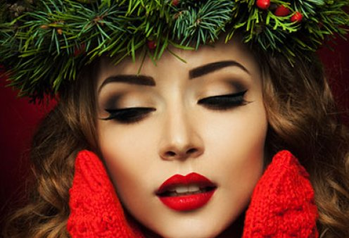 Χριστουγεννιάτικο μακιγιάζ: Υπέροχες ιδέες για να έχετε το πιο λαμπερό make up  - Φώτο   - Κυρίως Φωτογραφία - Gallery - Video