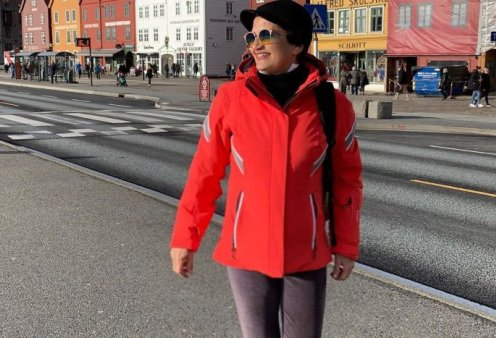 Άλκηστις Πρωτοψάλτη: Στη Νορβηγία για... σκι  - Πρωταθλήτρια του χιονιού & του ελκήθρου (φωτό) - Κυρίως Φωτογραφία - Gallery - Video